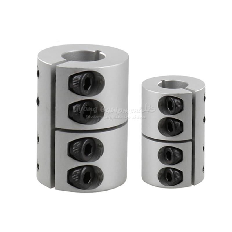 CNC Engraving Machine Tools Spider Rigid Shaft Coupler Connector Rigid Coupling 6.35/8/10/12/12.7/14/15/16/19/20