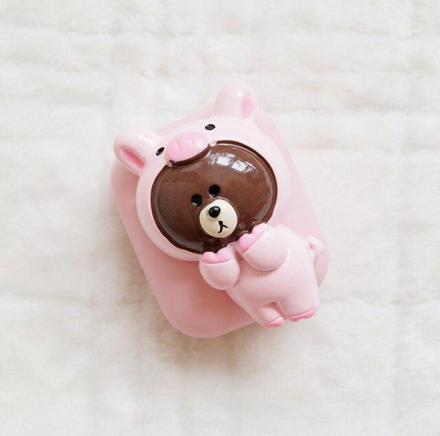 Cute Bear AirPod Case Cover 1