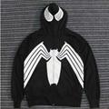 New Fashion Hoodies Men Autumn Winter Spider-Man design Print Tracksuits Fleece Hoodie zipper cosplay Sweatshirts costume