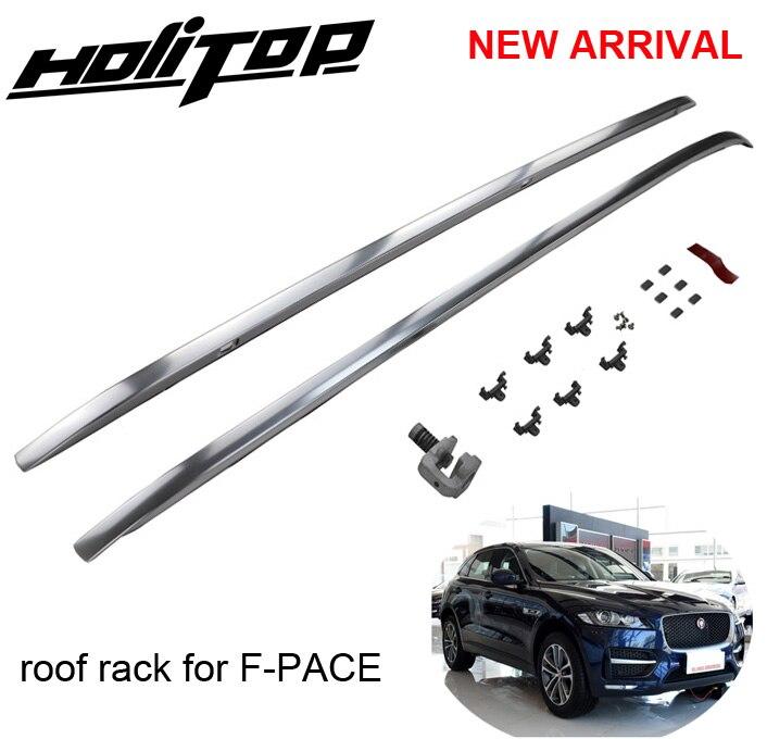 Le plus chaud pour Jaguar F-PACE F rythme toit rack rail de toit toit bar, installé par vis au lieu de colle, HITOP 5 ans SUV expériences