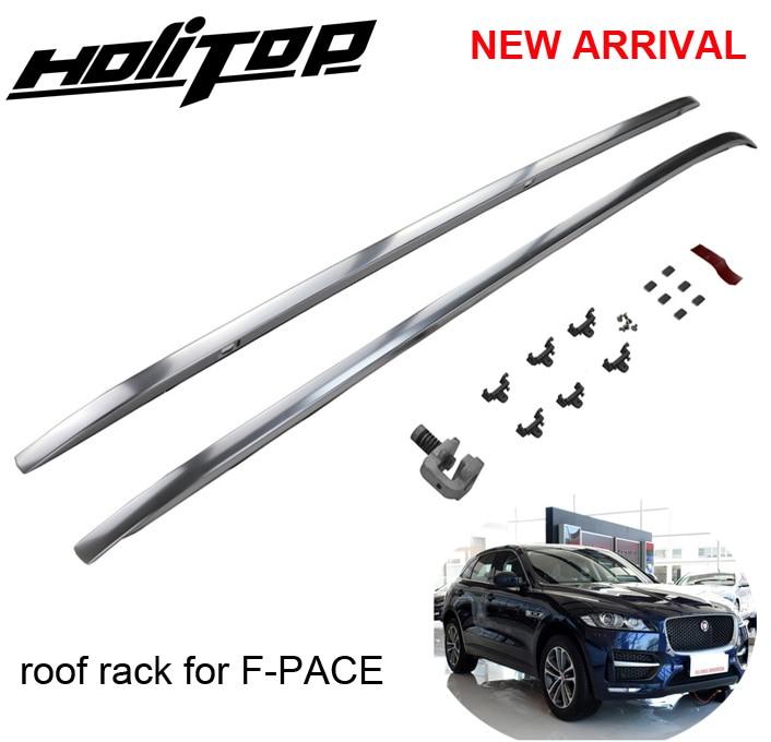 Più caldo per Jaguar F-PACE F ritmo portapacchi sul tetto rail bar sul tetto, installato con viti invece di colla, HITOP 5 anni di esperienze di SUV