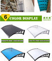 "YP100360-alu 100x360cm 39""x140"" aluminum brackets Polycarbonate awning,rain awning,entrance cover,Retractable Awnings"