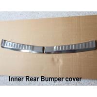עבור הונדה crv crv איכות גבוהה כרום נירוסטה אחורי Bumper משמר פלייט (Bottom) עבור הונדה CRV CRV 2012 2013 (5)