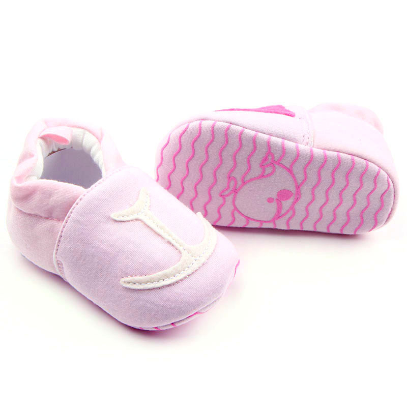 Cotton Fabric Baby First Walker Shoes Infant Toddler Shoes Animal Prints Babies Shoes For Baby Girl Baby Schoenen 0 12 Months in First Walkers from Mother Kids
