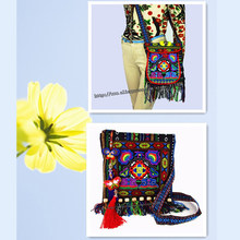 8433042e9ecc Free shipping fees 2 pc Vintage Hmong Tribal Ethnic Thai Indian Boho  shoulder bag message bag for women embroidery Tapestry 005