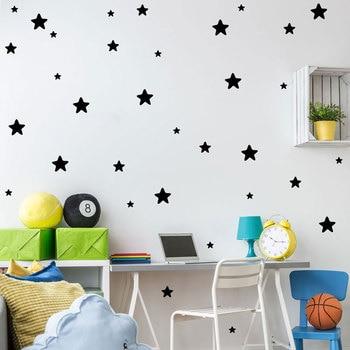 Selbstklebende Sterne Können Entfernen Fünfzackigen Stern Aufkleber  Wandbild Kinderzimmer Dekoration Wandsticker Home Decor Zimmer Kunst