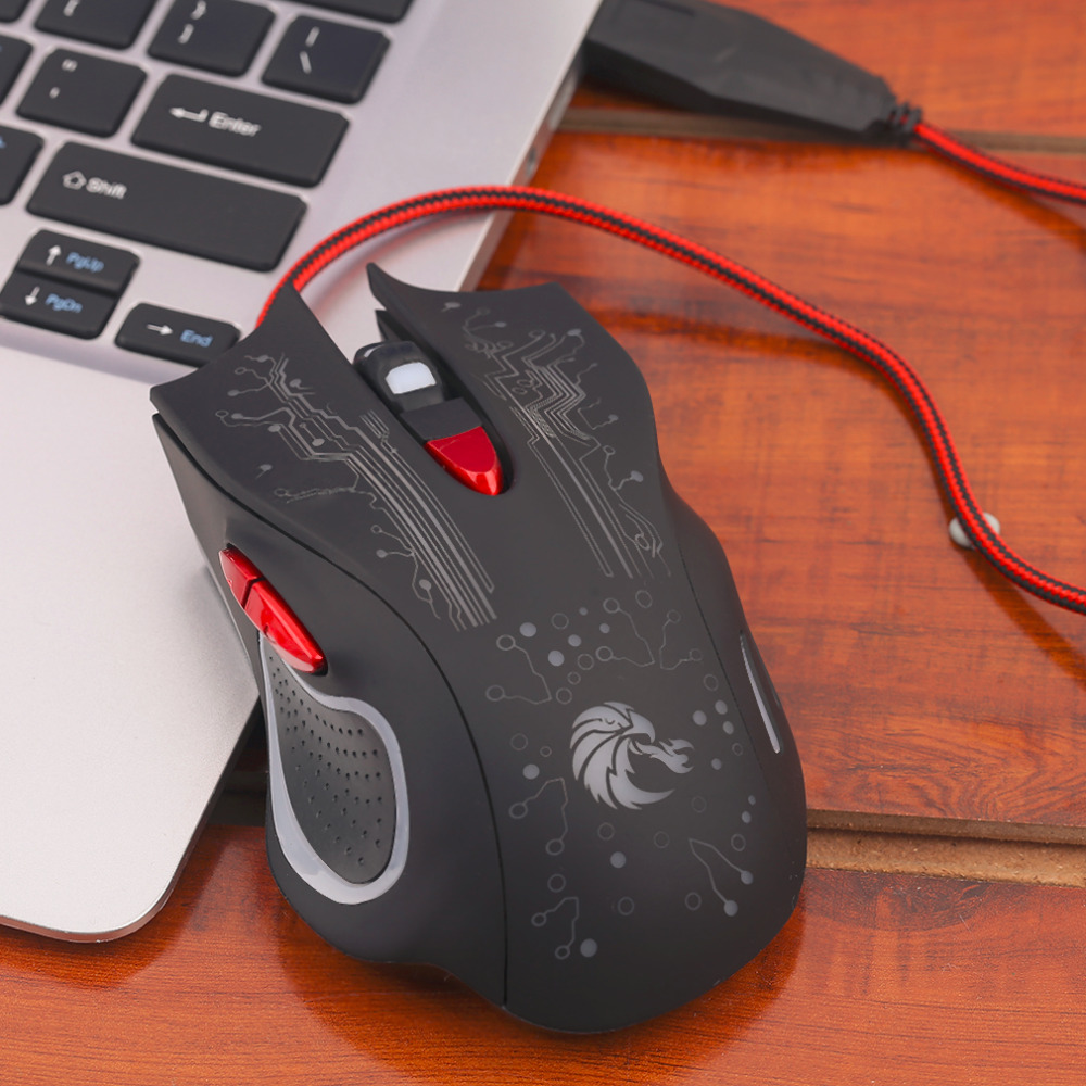 diseo profesional d casa juego gaming mouse botones ajustable cmodo juego de juego del