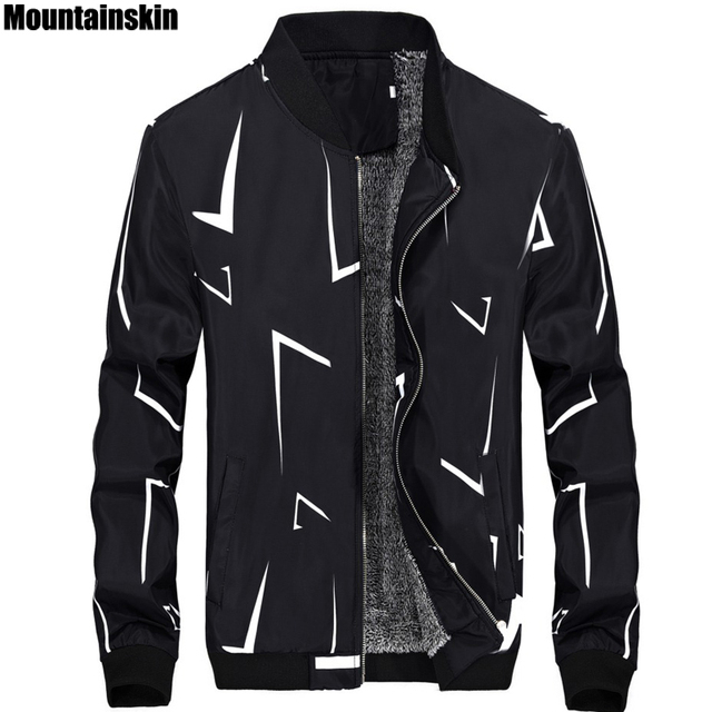 4XL, Winter New Men's Fleece Jackets Casual Stand Collar Men's Jackets Thickened Thermal Male Coats Fashion Brand Clothing SA150