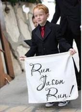 Banner divertido para Here Comes Banner - Su signo de niña / - Para fiestas y celebraciones