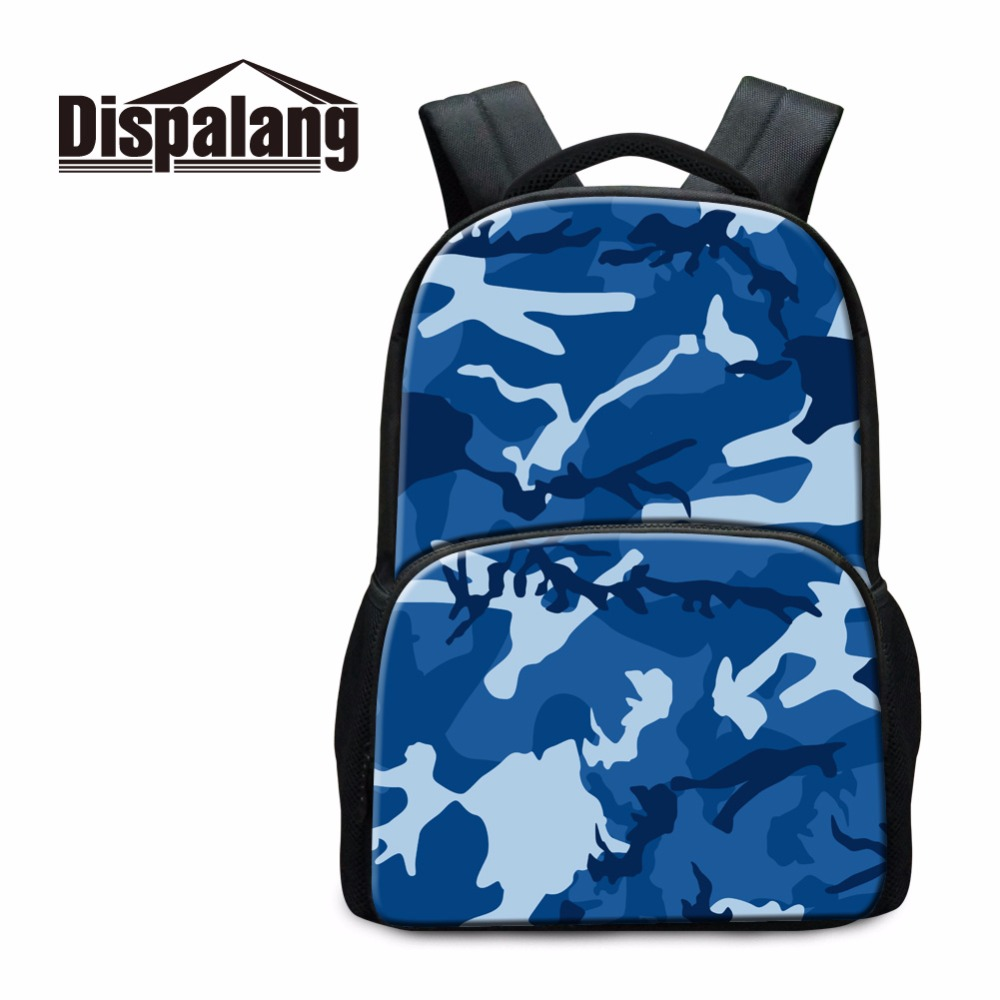 Bags for high school students - Dispalang High Capacity School Bag For High Class Students Trendy Camouflage Shoulder Bags For Youth Boys