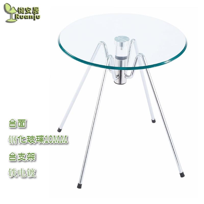 € 129.7 |Mesas mesa de café de cristal redonda de comedor entrada  teasideend C21 en Mesas de café de Muebles en AliExpress.com | Alibaba Group