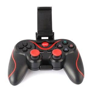Image 3 - Игровой контроллер T3 для смартфона, беспроводной джойстик Bluetooth с подставкой для телефона, держатель для смартфона Android, планшета