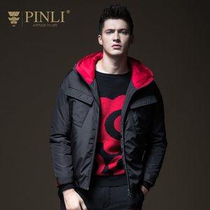 Мужская зимняя куртка, лидер продаж, Chaquetas Hombre Pinli Pin Li, новинка, мужской костюм на осень, шапка-Авиатор, пальто, B183605522