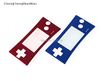 ChengChengDianWan Repair Front Shell Faceplate Case Cover for GBM Front Panel for Gameboy Micro 10pcs/lot