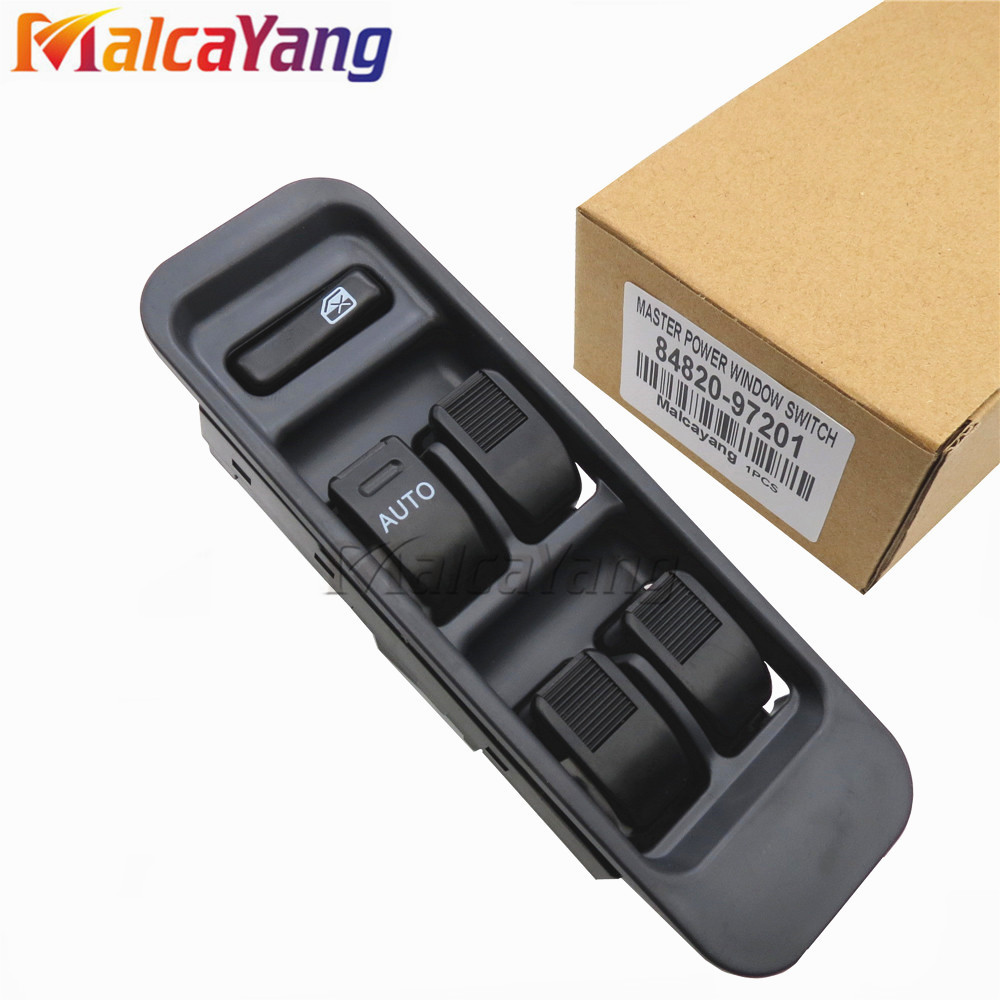 LHD&RHD Electric Power Window Master Switch For Toyota Avanza Cami Duet Daihatsu Sirion Serion 84820-97201 84820-B5010