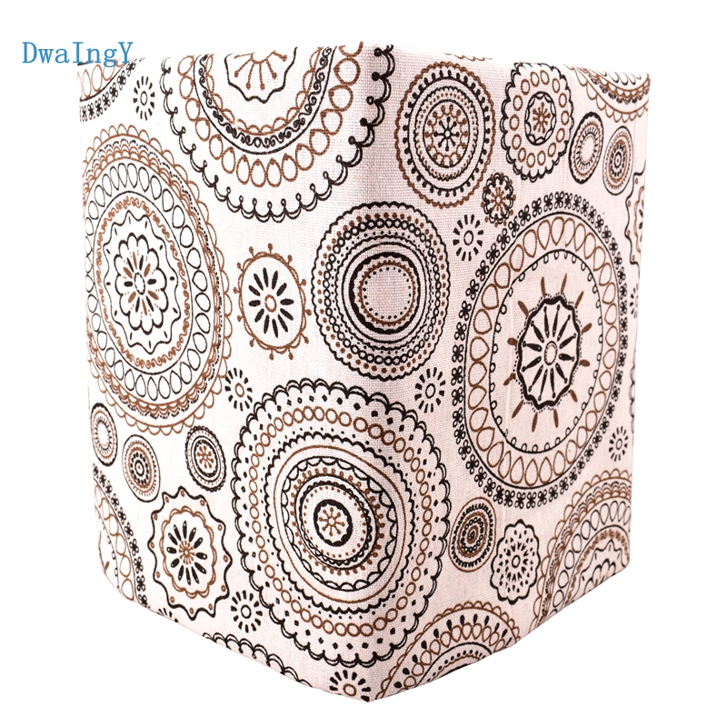 DwaIngY circles series Cotton Linen Fabric For Sewing/DIY/Quilting/Sofa/Curtain Bag Cushion Furniture Cover Material Half Meter