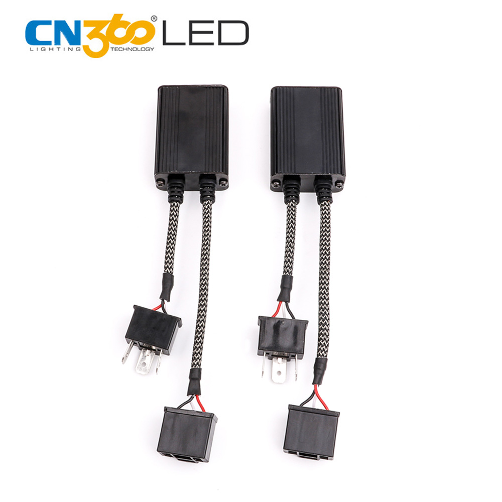 CN360 2PCS LED Decoder Error Free CANBUS Part For LED Light Flicker FM Interference Warning Message From Dash Board C6 2pcs lot light decoder h11 led headlight canbus error free anti flicker resistor canceller decoders plug in play for bmw vw
