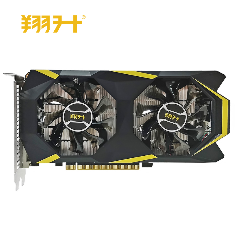 New Graphics Card ASL GT1050ti War knife 4G GDDR5 128bit Video Cards for nVIDIA Geforce GT 1050ti Hdmi Dvi game image
