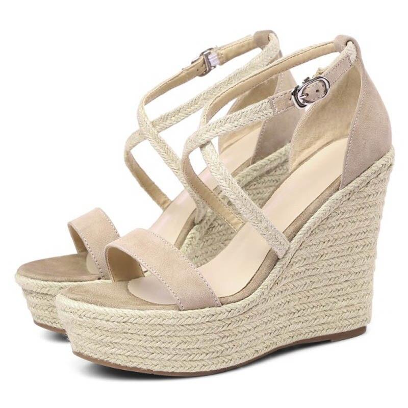 Mujer Plata Y0745666f La Zapatos Apricot Moda Mejor Plataforma wTkZOuPXil
