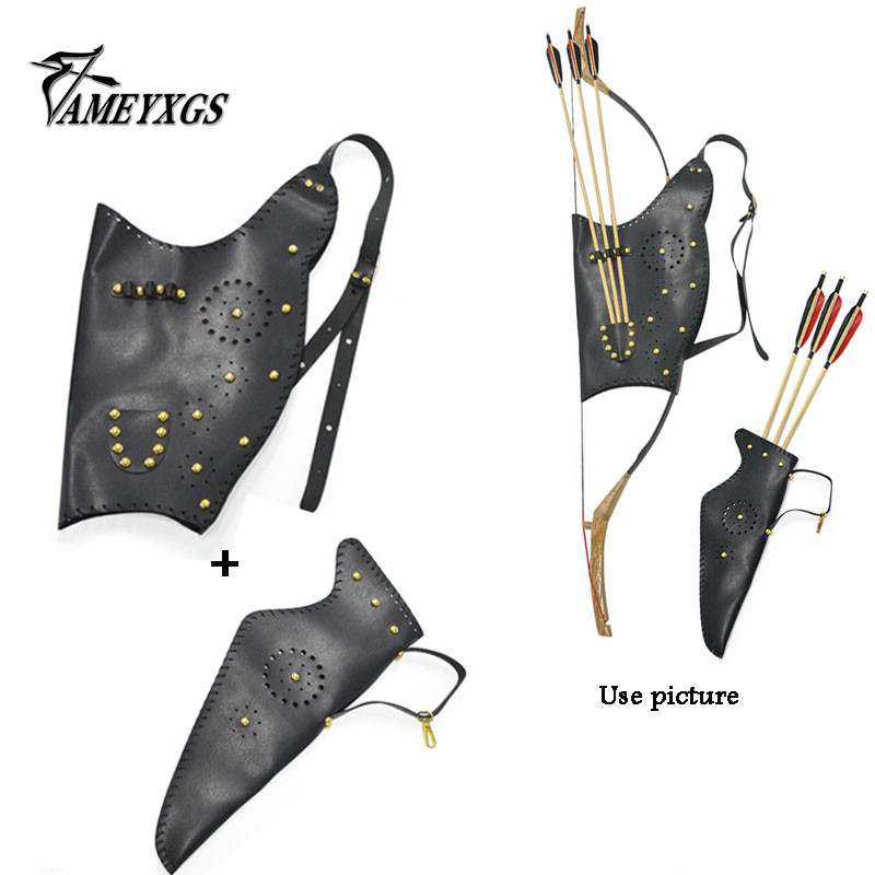 Hunting Brave Adjustable Telescopic Archery Arrow Quiver Tube 63-103 Cm For Archer Bow Arrow Hunting Target Shooting Games Arrow Bag Holder
