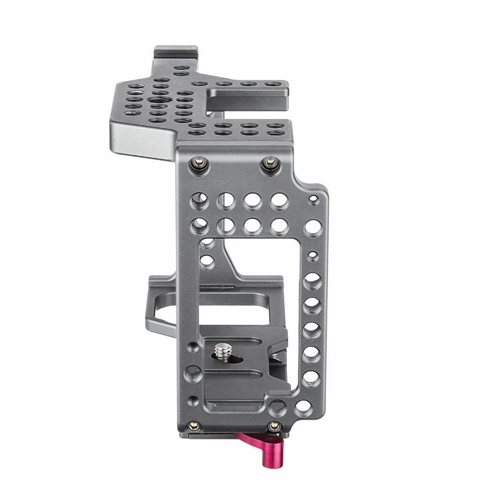 productimage-picture-waraxe-a7-kit-camera-cage-built-in-quick-release-fits-arca-swiss-for-sony-a7-a7r-a7s-a7-ii-a7r-ii-a7s-ii-with-nato-rail-handle-grip-and-1-4-98412