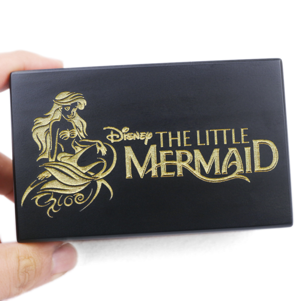 Handmade Wooden The Little Mermaid Music Box Birthday Gift For Christmas Birthday Valentine's day special gifts for childrens