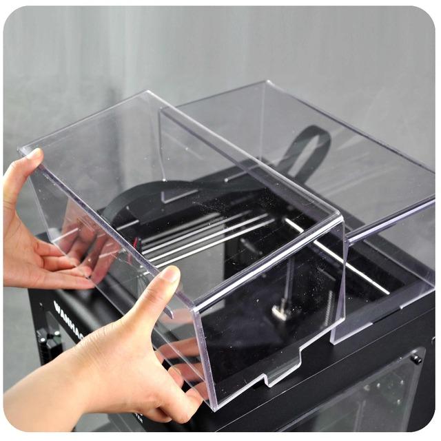 Cubierta de acrílico para 3D IMPRESORA Wanhao DUPLICADORA 6