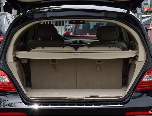 Cobertura De Carga Escudo de Segurança Tronco Traseira do carro Sombra Para Mercedes-Benz Classe R W251 R300 R320 R350 R400 R500 2007-2017 (Bege)