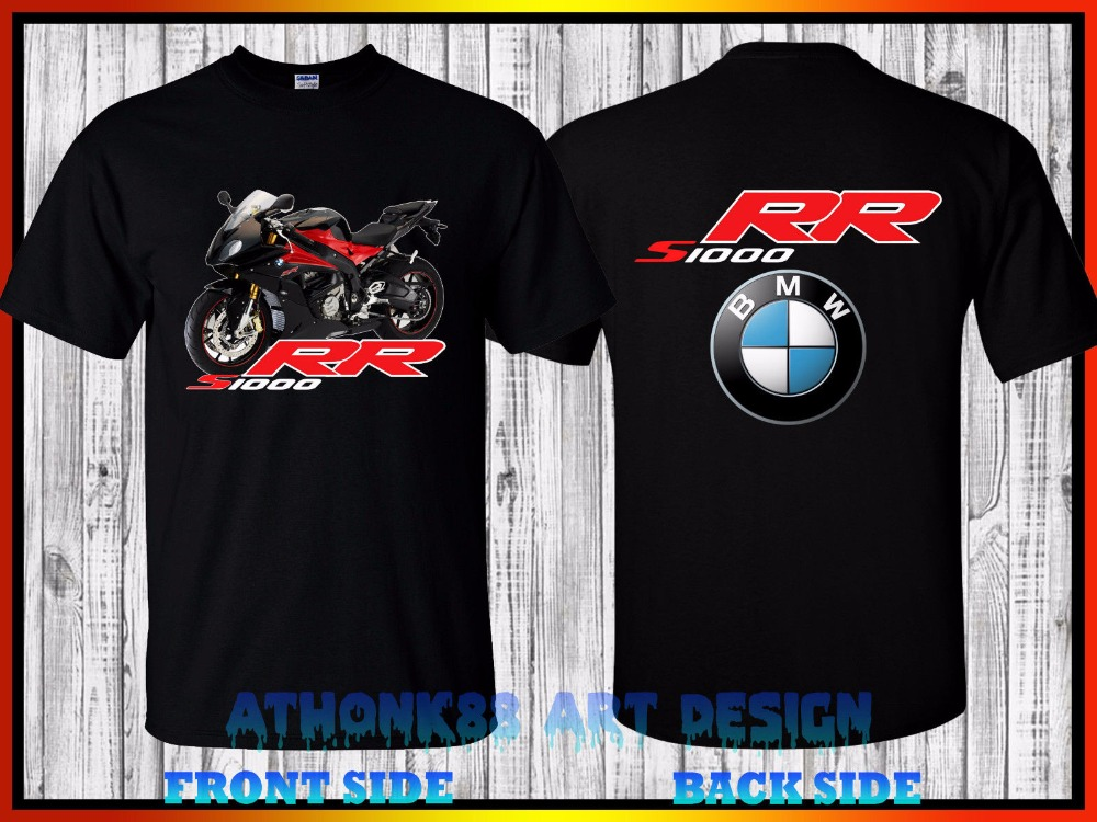 New 2017 Fashion Hot Sale 100% Cotton For Man Shirts S 1000 Rr Motorcycle Fans T-Shirt Size M-3XL custom Made Tee Shirt