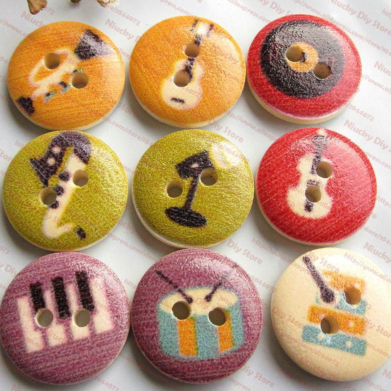 Craft music buttons reviews online shopping craft music for Decorative buttons for crafts