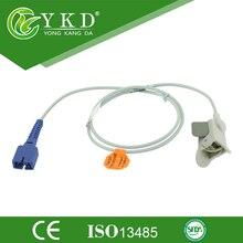 Nellcor (non-oximax)DS100A Pediatric Finger Clip Spo2 Sensor,1m length/7pin