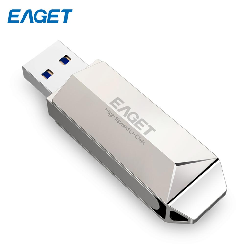EAGET F70 Zinc Alloy Case High Speed USB 3.0 16/32/64GB U Disk