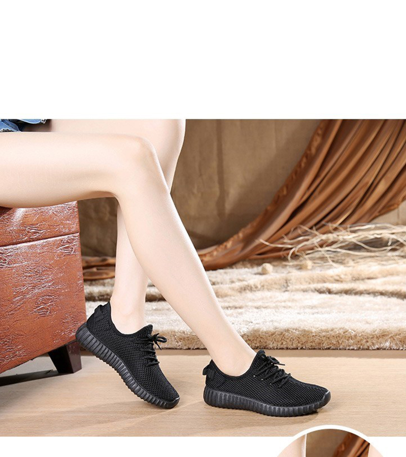 Mesh casual shoes women Breathable Lace Up white sneakers female soft lightweight summer flat Women Vulcanize Shoes 2019 VT243 (12)