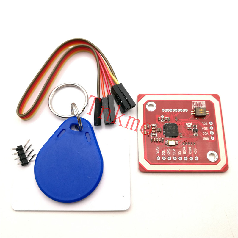 1Set PN532 NFC RFID Wireless Module V3 User Kits Reader Writer Mode IC S50 Card PCB Attenna I2C IIC SPI HSU For Arduino password management short range nfc module rfid 13 56mhz tag reader