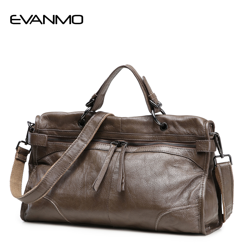 Famous Brand Design Real Cow Leather Ladies HandBags Women Genuine Leather Shoulder Bags Hign Quality Totes Messenger Bags E