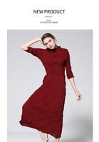 Новая летняя женская одежда MIYAKE со складками Ретро модное платье с длинными рукавами модное плиссированное платье Бесплатная доставка