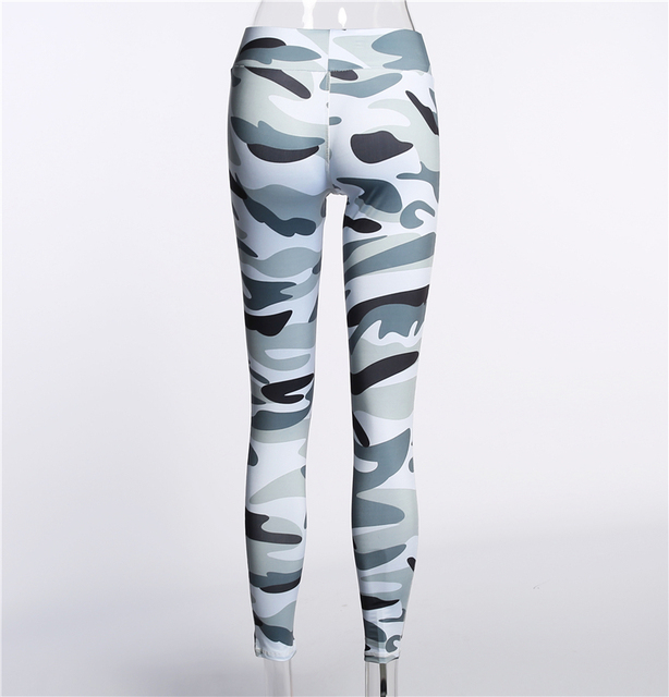 Skinny Camouflage Fitness Leggings
