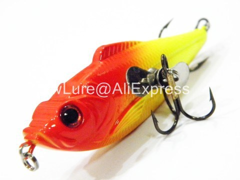 Fishing Lure Topwater Dead Fish Hard Bait Fresh Water Bass Walleye Crappie Minnow Fishing Tackle HL5279F1 new bass floating frog topwater fish fishing lure bait hooks tackle 60mm 9g