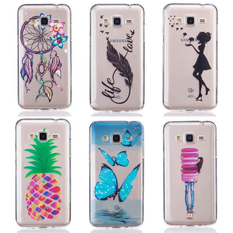 1707ef8ef50 For Fundas Samsung Galaxy J3 Case Silicone Transparent Clear Soft Phone  Case For Samsung Galaxy J3 2016 Case J320 TPU Back Cover