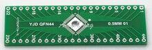 20 pcs/lot QFN adaptateur plaque 44 p tourner DIP 0.5mm