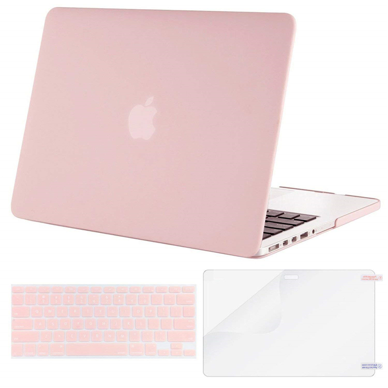 Image 2 - MOSISO 2019 Matte Hard Shell Laptop Case For MacBook Pro 13 Retina 13 15 Model A1502 A1425 A1398 Cover For Mac book 13.3 inch-in Laptop Bags & Cases from Computer & Office