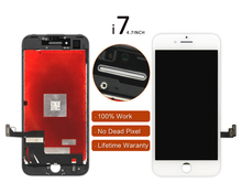 10pcs Original For iPhone 7 LCD Display with 3D Touch Screen Digitizer Assembly Black or