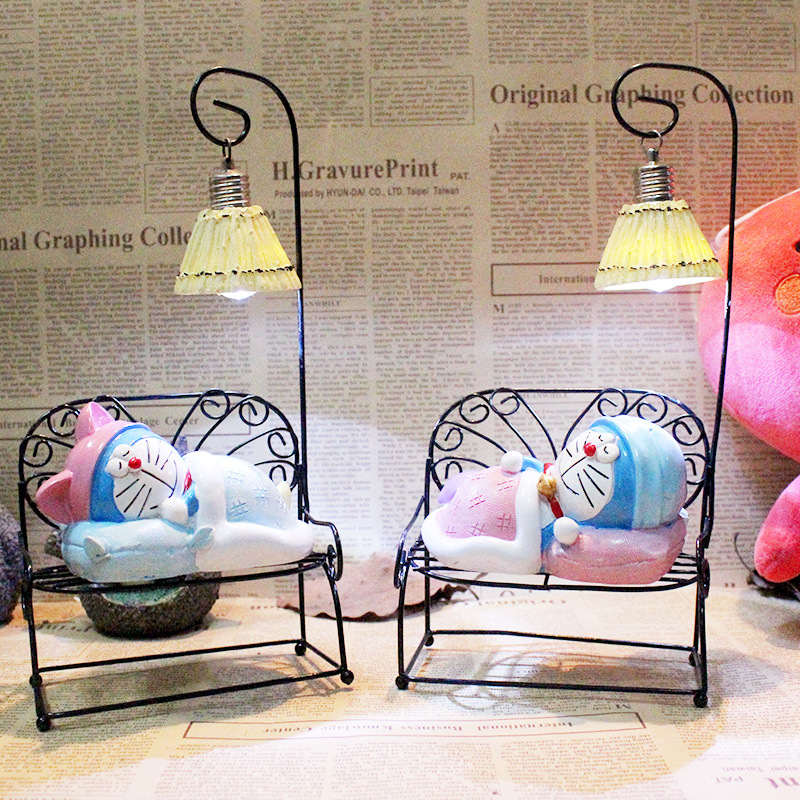 Led Table Lamps Modern Romantic Cartoon Resin Cat Table Lamps Nordic Table Lamp For Child Living Room Bedside Decoration