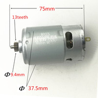 13 Teeth RS 550VC 8518 Motor 10 8V 12V Replace For BOSCH GSR10 8 2 LI