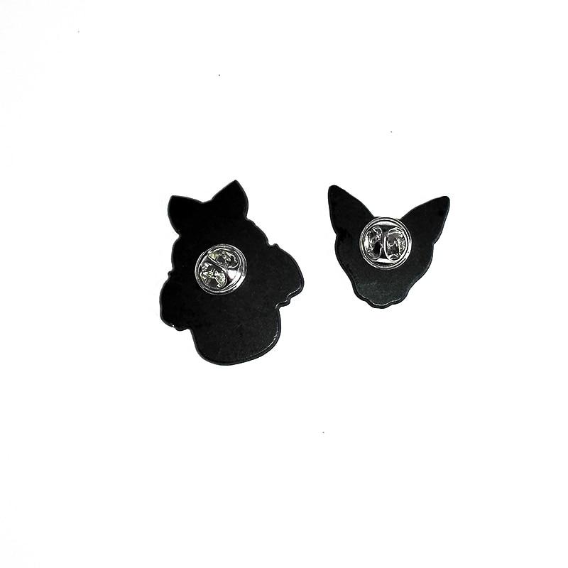 Brooch for Men Women Denim Jacket Pin Animal Flower Butterfly Owl Acrylic Badges Enamel Pins Shirt Blouse Collar Clip Brooches