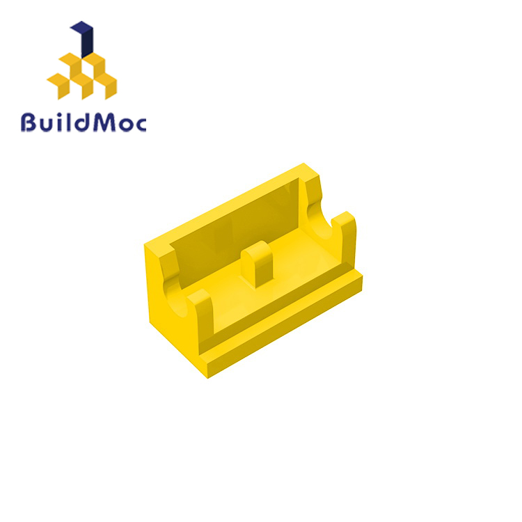 BuildMOC Compatible Assembles Particles 3937 1x2For Building Blocks Parts DIY LOGO Educational Creative Gift Toys
