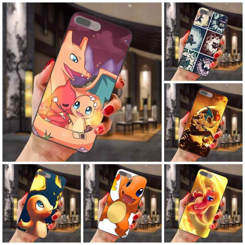 Charmander Pokemons For Huawei Honor Enjoy Mate Note 6s 8 9 10 20 P20 P30 Lite Play Pro P smart TPU Mobile Cases Covers