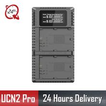 Nitecore UCN2 Pro Dual Slot USB QC LP-E6 LP-E6N Charger For Canon CANON DSLR EOS 60D 5D3 7D 70D 5D Mark II SLR  Camera Battery
