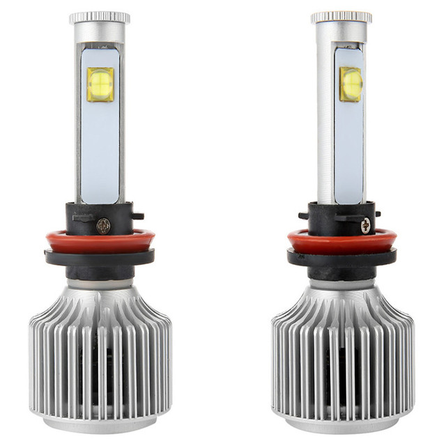 New X7 All-in-One Conversion Kit Auto Car Headlights Led Auto Front Fog Light Bulb White 6000K Plug Led Automotive Headlamp