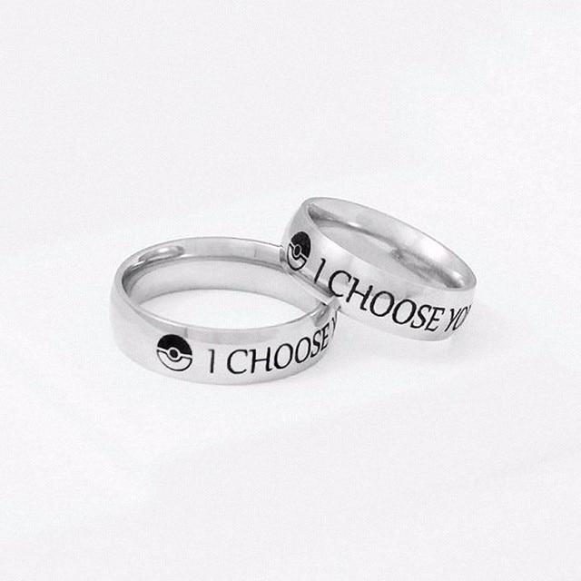 Ich Wahlen Sie Ring Paar Edelstahl Verlobungsringe Fur Ihn Und Ihre